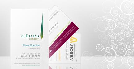 Topwize Vous Propose Dans La Dclinaison De Votre Charte Graphique Cration Et Limpression Vos Cartes Visite