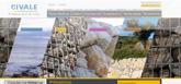 Civale, travaux maritimes, gabions, enrochements, pierres sèches